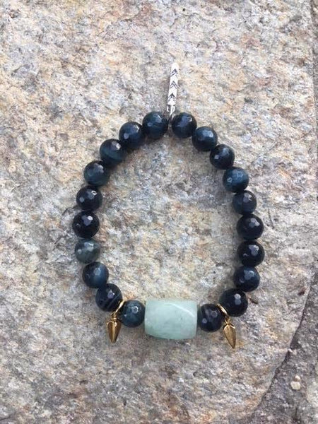 wealth and intuition warrior bracelet FOR HER