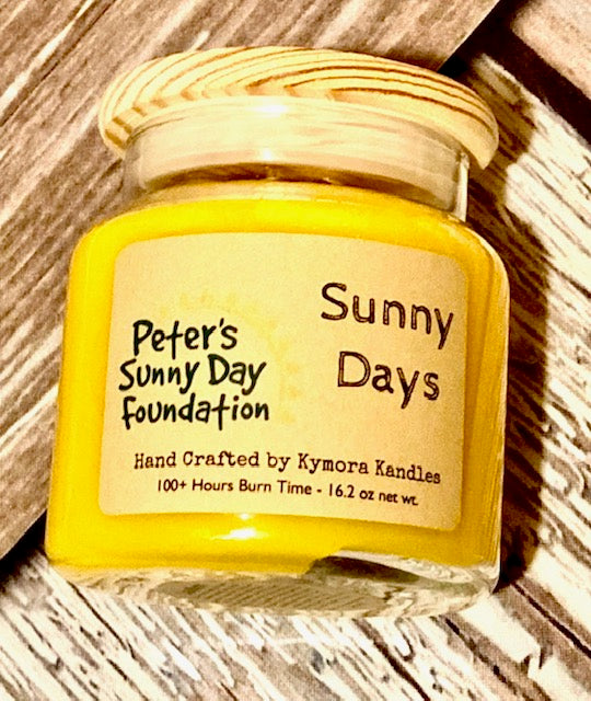 Peter's Sunny Day Foundation - Kylie Jar