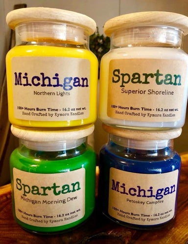 MICHIGAN & SPARTAN Large Jars