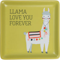 Llama Love You Trinket Tray