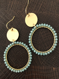 Round Bead Earrings