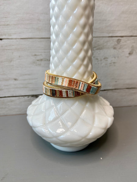 bracelet - leather wrap