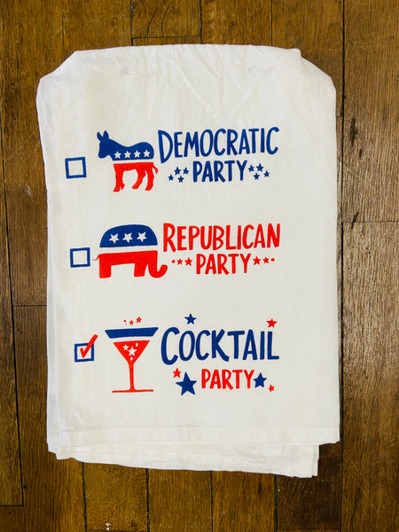 Towel - Cocktail Party