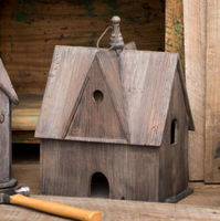 Rustic English Cottage Birdhouse