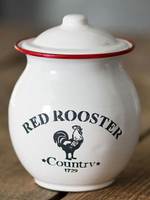 Red Rooster Cannister