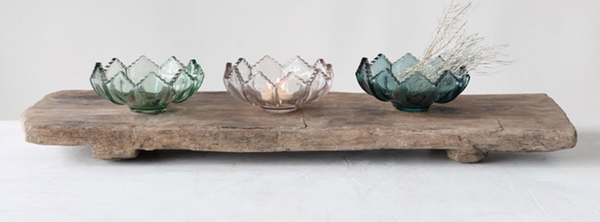 Fluted Glass Tealight