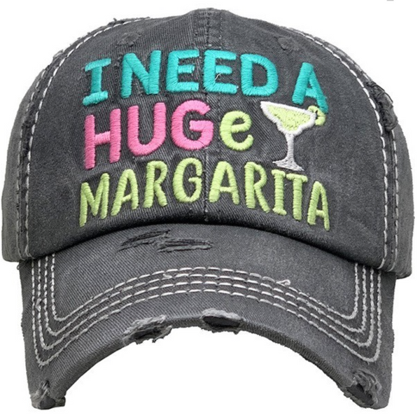 I Need a Huge Margarita