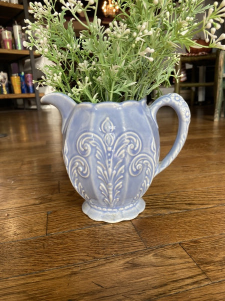 Blue Pitcher