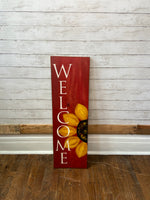 Front Porch Welcome Sign