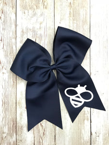 CLEARANCE Alta Vista Navy Hair Bow