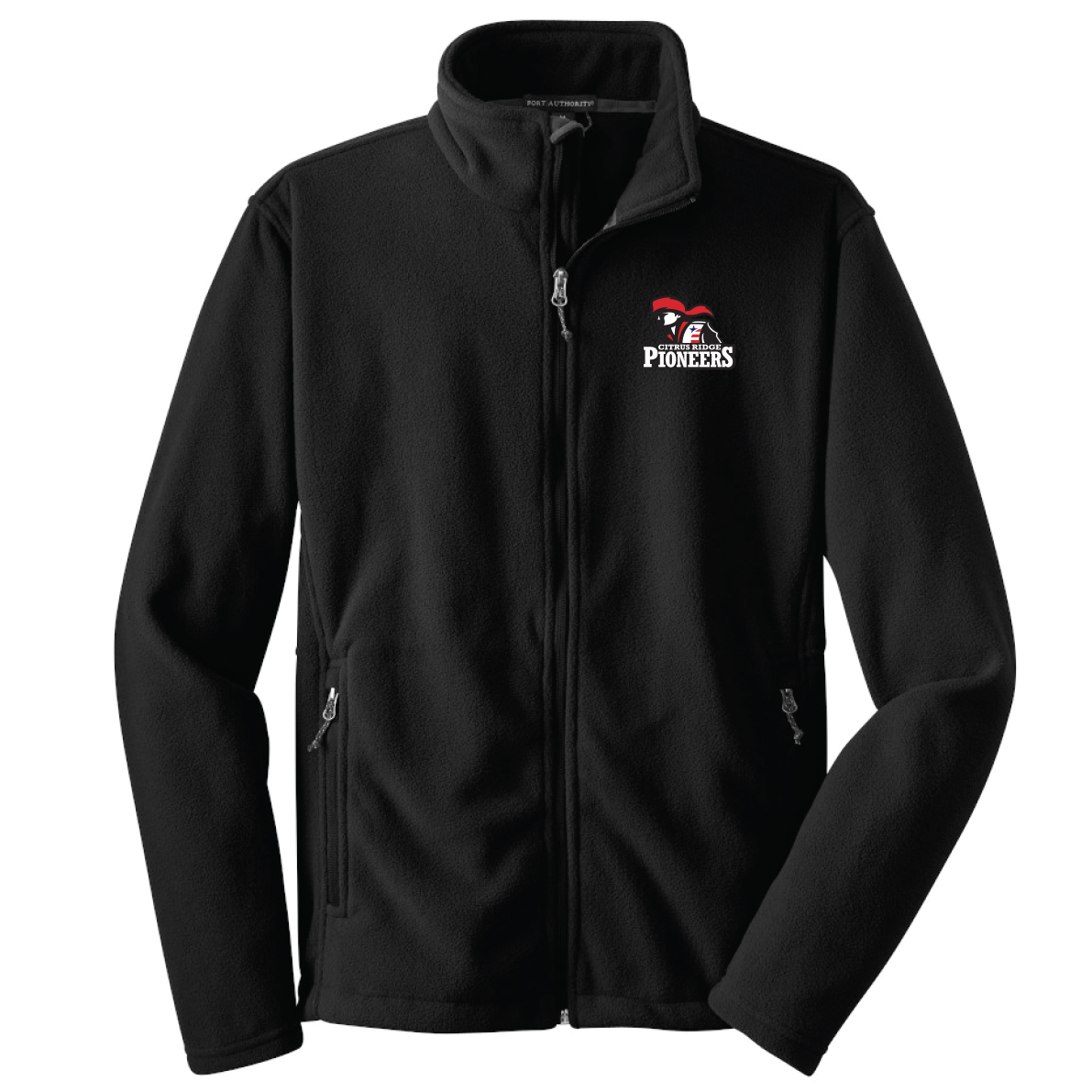 Citrus Ridge Port Authority® Fleece Jacket - (Youth & Adult Sizes) - Black - (ALL GRADES)