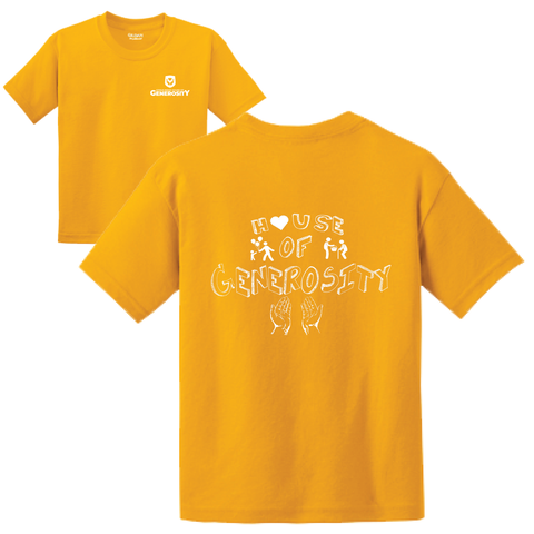 Citrus Ridge HOUSE Basic Student T-Shirt - Gold