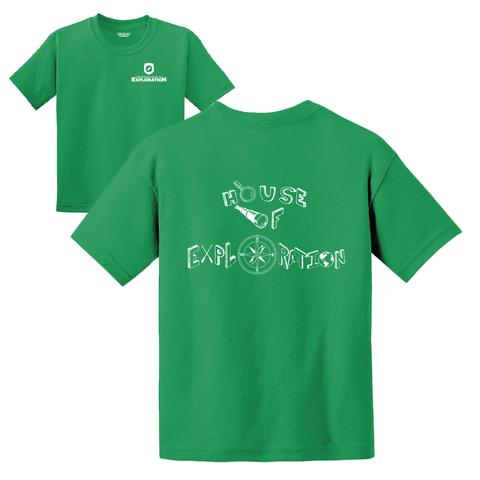 Citrus Ridge HOUSE Basic Student T-Shirt - Green