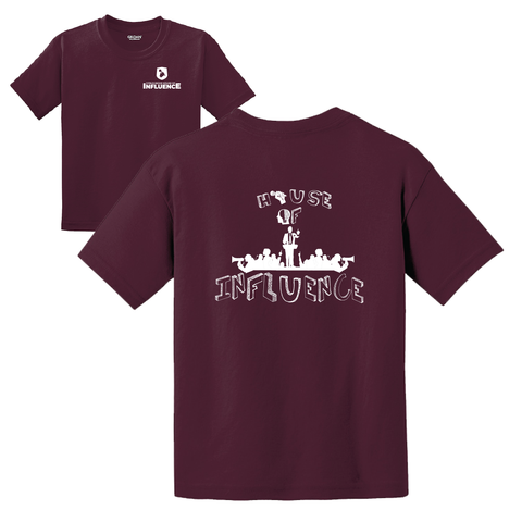 Citrus Ridge HOUSE Basic Student T-Shirt - Maroon