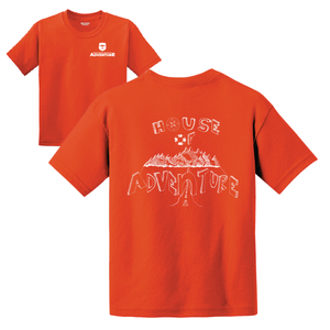 Citrus Ridge HOUSE Basic Student T-Shirt - Orange