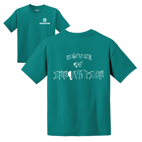 Citrus Ridge HOUSE Basic Student T-Shirt - Jade