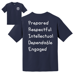 Citrus Ridge Basic Student T-Shirt - Navy - (K-2nd grade)