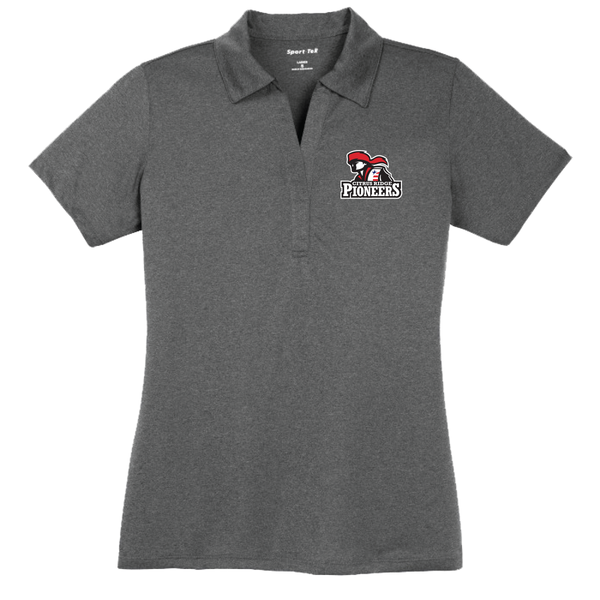Citrus Ridge Staff Polo PIONEER Sport-Tek® Ladies Heather Contender™ Polo -Graphite Heather