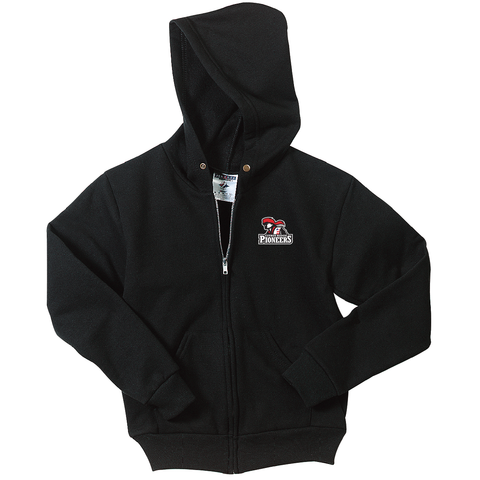 Citrus Ridge Full Zipper Hooded Sweatshirt (Youth and Adult sizes) - Black - (ALL GRADES)