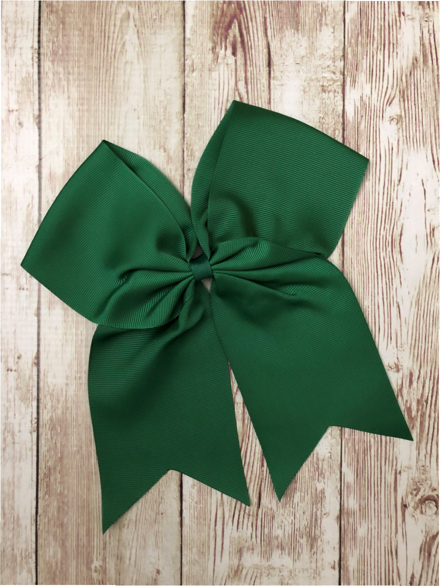 Eastside Elementary Hunter Green Hair Bow