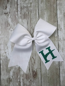 Hillcrest White Hair Bow