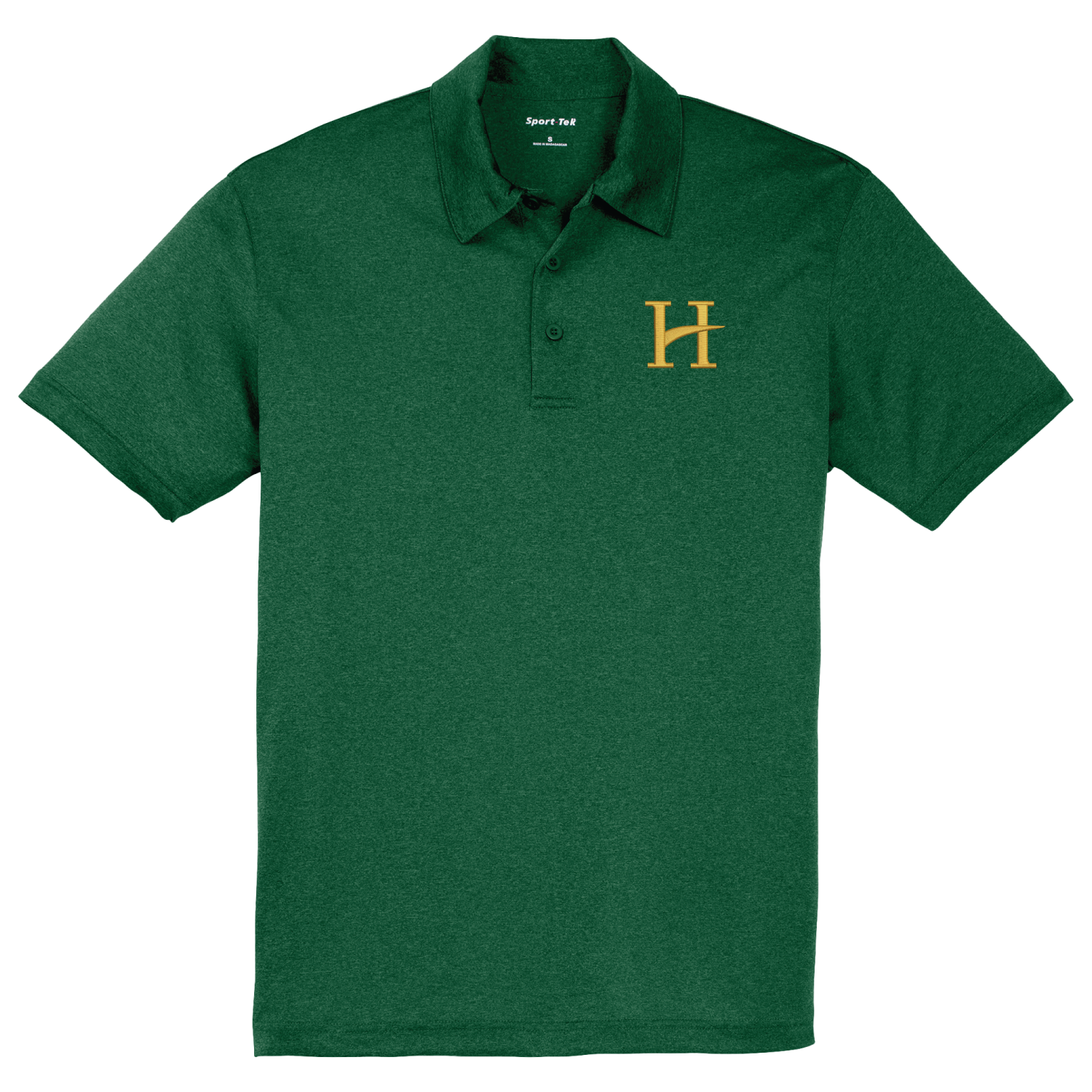Staff Polo Hillcrest Sport-Tek® Heather Contender™ Polo - Forest Green Heather