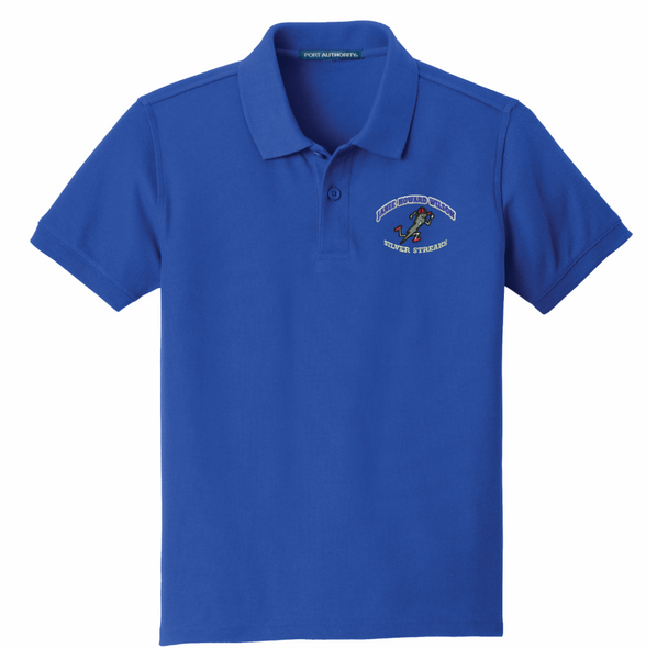 Janie Howard Wilson Port Authority® YOUTH SIZE Classic Pique Polo - ROYAL
