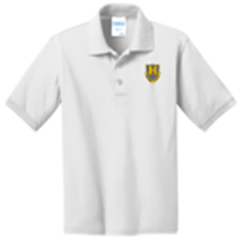 Foundations Academy (Hillcrest) Jersey Knit Polo - White