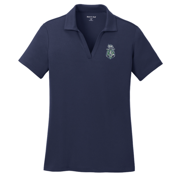 Jewett Academy Sport-Tek® PosiCharge® RacerMesh® Polo - (LADIES Fit) True Navy