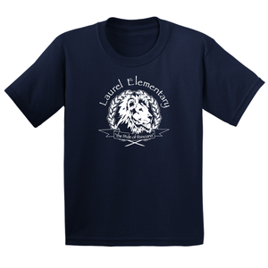 Laurel Elementary T-Shirt - (Youth & Adult) Sizes - Navy