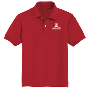 McLaughlin Youth and Adult Jerzees Youth SpotShield™ Jersey Polo for 7th GRADE STUDENTS