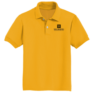 McLaughlin Youth and Adult Jerzees Youth SpotShield™ Jersey Polo for 6th GRADE STUDENTS