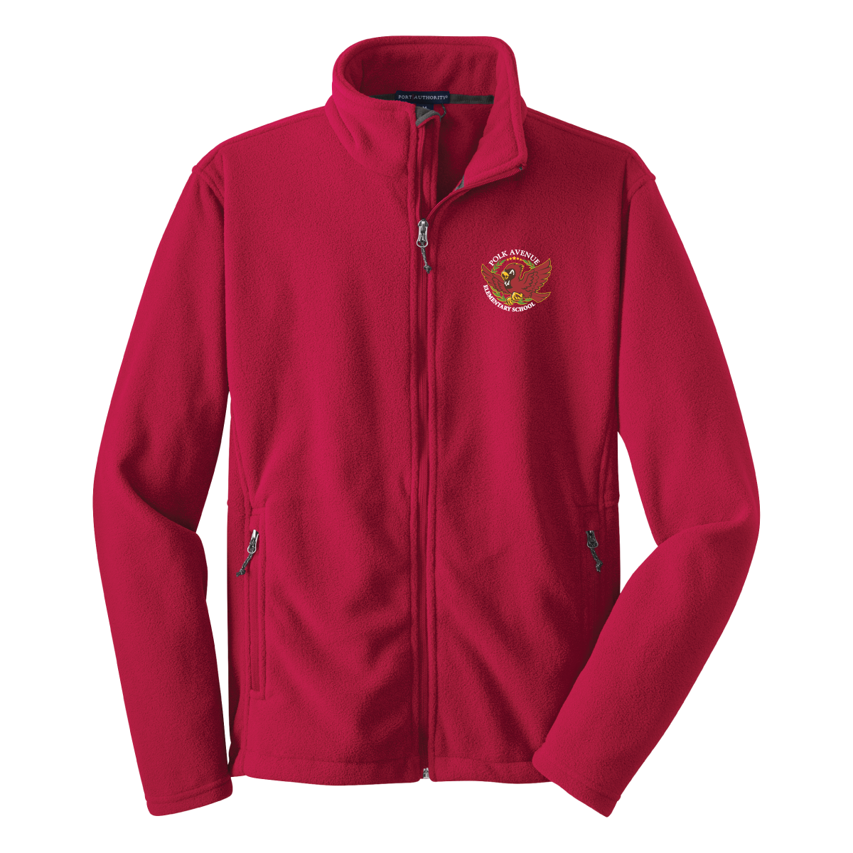 Polk Avenue Elem Port Authority® Value Fleece Jacket - Red