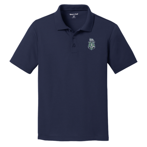 Jewett Academy Sport-Tek® PosiCharge® RacerMesh®Polo (Youth) True Navy