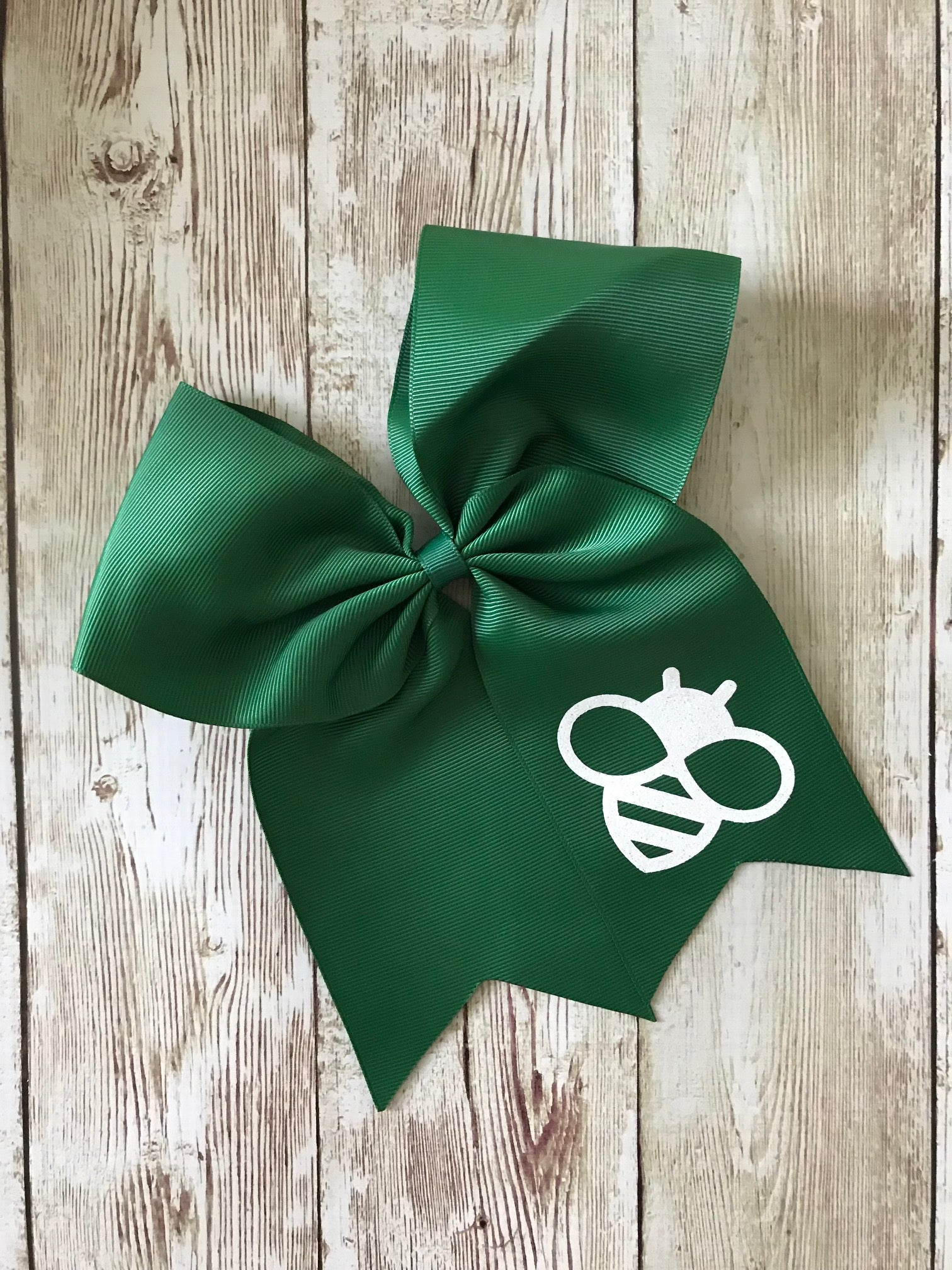 Alta Vista Dark Green Hair Bow