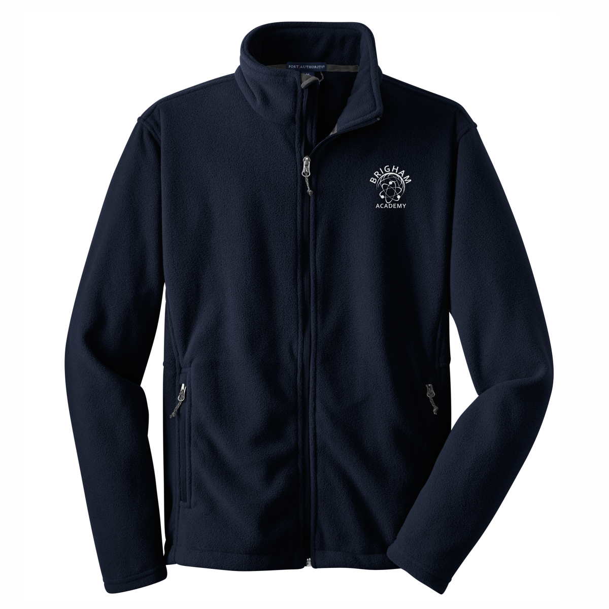 Brigham Academy ADULT SIZE - Port Authority® Fleece Jacket - Navy