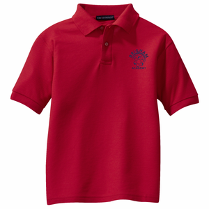 Brigham Academy ADULT SIZE - Port Authority® Classic Pique Polo - RED