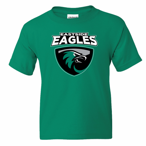 Eastside Elementary Youth and Adult T-Shirt - Green