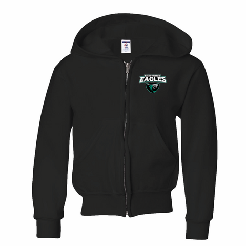 Eastside Elementary Full Zipper Hooded Sweatshirt (Youth and Adult Sizes)
