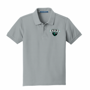 Eastside Elementary YOUTH Embroidered Polo Gusty Grey