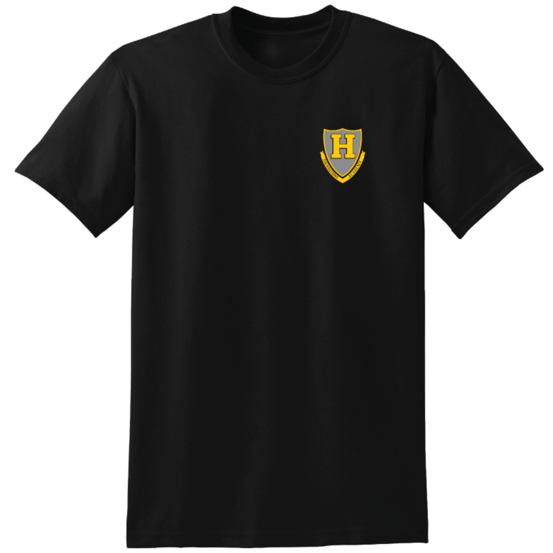 Foundations Academy (Hillcrest) 100% Polyester Moisture Wicking T-shirt - Black (unisex)