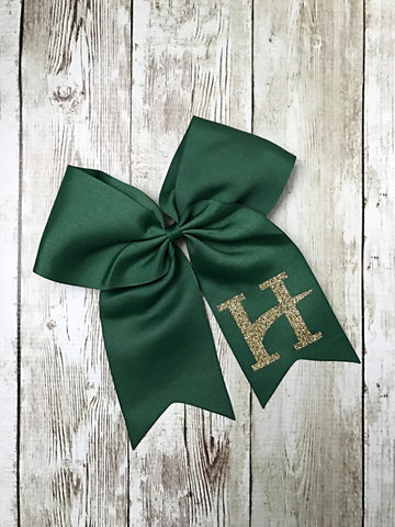 Hillcrest Green Hair Bow