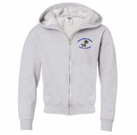 Janie Howard Wilson Full Zipper Hooded Sweatshirt (Youth and Adult Sizes)