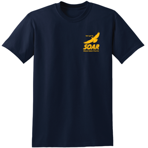 Soar Academy (Hillcrest) Youth DryBlend® 50 Cotton/50 Poly T-Shirt - Navy