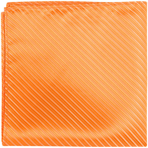 O4 PS - Tangerine - Matching Pocket Square