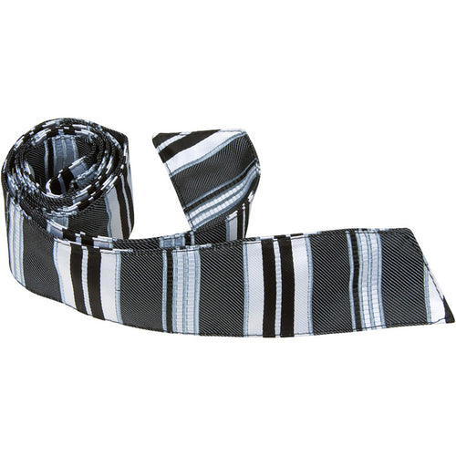 K4 HT - Black Multi Stripe - Matching Hair Tie