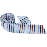 B10-HT - Light Blue with Stripes Hair Tie