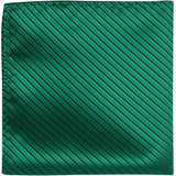 G5 PS - Green with black stripe - Matching Pocket Square