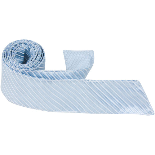 B1 HT - Pale Blue Pinstripe - Matching Hair Tie