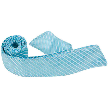 S4 HT - Silver Multi Stripe - Matching Hair Tie
